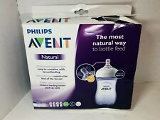 Philips Avent Natural Baby Bottle Purple 9oz 4pk SCF013/43 FREE SHIPPING READ!