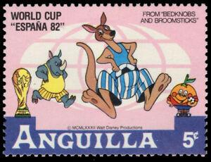 ANGUILLA 495 (SG523) - Disney Espana '82 World Cup Football (pf19614)