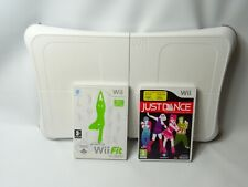 Nintendo Wii Party / Fit / Dance on Broadway + Wii jog & balance board Fitness