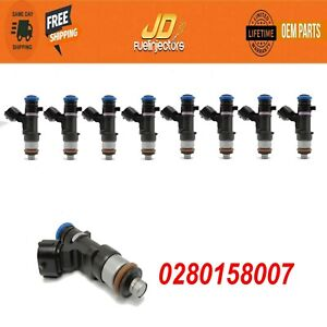 x8 Genuine Fuel Injectors NISSAN NZ2500 2012-2017 V8  5.6 4.0 0280158007
