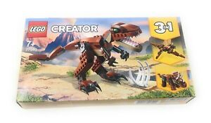 LEGO Creator - 77940 Brown Mighty Dinosaur - Exclusive UK Variant - Brand New ✅