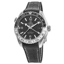 New Omega Seamaster Planet Ocean 600M GMT  Men's Watch 215.33.44.22.01.001