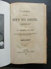 Friese STIMMEN AUS DEM REICH DER GEISTER 1921 6. Auflage