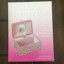 Girl's musical Jewelry box