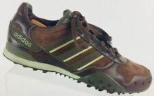ADIDAS X-Country Chaussures Trail Brown Suede Leather Women Shoes US 6.5 #114526
