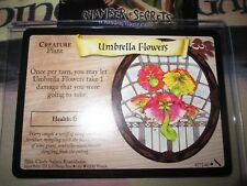 HARRY POTTER TCG GAME CARD CHAMBER OF SECRETS UMBRELLA FLOWERS 87/140 UNCO MINT