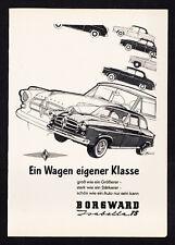 3w3546/ Alte Reklame von 1958 - BORGWARD Isabella TS