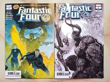FANTASTIC FOUR 1 2018 VENOMIZED PARTY SKETCH VARIANT + REGULAR COVER MARVEL LOT