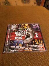 Musicos Poetas y Locos 2 Import CD Jarabe de Palo Azul Violeta Mano Negra Rare