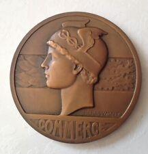 Grosse médaille en bronze Commerce Rasumny Chambre Valenciennes