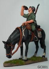 Metal Toy Solder 1:30 Germany Cavalry Ww2 Waffen Ss Thomas Gunn Gc001