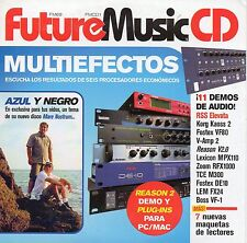 "AZUL Y NEGRO - REASON 2 - KORG KAOSS PAD - ""FUTURE MUSIC 69"" RARE SPANISH CD ROM"