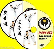 wado ryu Karaté étape par étape KATA Tutoriel Demonstrations DVD VIDÉO SET NEUF