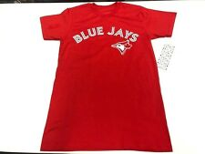 Men's Toronto Blue Jays MLB Baseball Alternate Red Round Neck T Shirt XX-Large