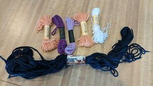 Wool & Acrylic Yarn Bernat, Paragon,Brunswick Persian & Persian type lot of 6
