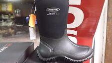 Dryshod Kid's Tuffy Outdoor youth 4 Black youth Boots,100% waterproof TUF-KD-BK