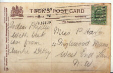 Genealogy Postcard - Har?? - Inglewood Mansions - West End Lane - Ref 4147A