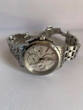 Used Maurice lacroix masterpiece 100%Authentic Men' Chronograph Stainless Watch