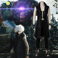 Devil May Cry V 5 DMC 5 Vitale Cosplay Costume Cloak Jacket Outfits Full Set Lot