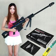 Kids Toys Gun 3D Paper Model 1:1 Scale M82A1 12.7mm Sniper Rifle Paper Model Gun