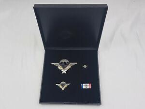 (C1) Französisches Fallschirmjäger Springer Abzeichen Fremdenlegion im Etui