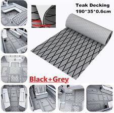 Black+Grey EVA Foam Boat Decking Marine Flooring Synthetic Teak Mat Carpet Sheet