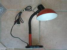 Lampe de bureau ou chevet orange vintage années 60 70 design 1970 / loft rétro