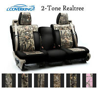 Coverking Custom Seat Covers Neosupreme Front Row - 2-Tone Realtree Camo