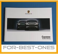 NEU Porsche Cayenne 955 Serviceheft Wartungsheft Wartung Mj. 2002 - 2007