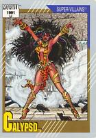 CALYPSO / Marvel Universe Series 2 (Impel 1991) BASE Trading Card #83
