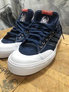 BRAND NEW Adidas Matchcourt x Bonethrower Navy Sneakers CG4870 Size 11.5