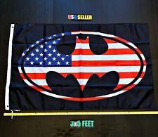 New listing Batman Usa Flag Free First Class Ship Superman Superwomen Joker Super man Banner