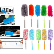 1 x Telescopic Microfiber Duster Extendable Cleaning Dust Home Office Car Tool U