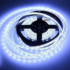 12V 5M 5050 Cool White SMD Waterproof Flexible LED Strip Light Tape Roll 300Leds