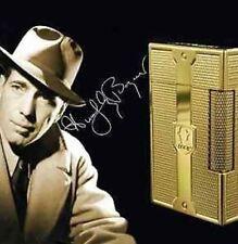 "S.T. Dupont Humphrey Bogart "" Bogie"" L2 Lighter Grained Yellow Gold Plated"