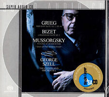 GRIEG peer gynt BIZET l'arlesienne MUSSORGSKY pictures SZELL SACD FACTORY SEALED