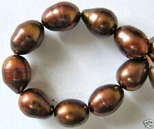 Oval, weiß 9,5x7,5 mm Perlen SWZP* Strang O-3462//r