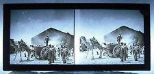 Photo  photographie colonies Afrique 1900 caravane chariot dromadaire