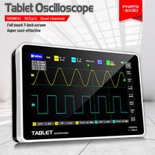 1013d 7 Touch Panel 2ch Digital Oscilloscope 100mhz 2 Band Width 1gsas B6s4