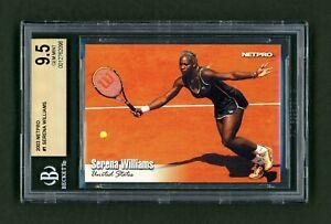 2003 NetPro Serena Williams #1 Base Rookie BGS 9.5 🎾 Nadal Bonus 🎾 1 Higher