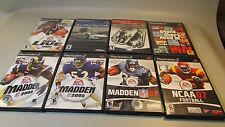Large Lot Of 8 Games for PS2 Sony PlayStation 2 Complete NBA Madden GTA Supercar