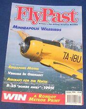 FLYPAST MAGAZINE JANUARY 1996 - MINNEAPOLIS WARBIRDS/SINGAPORE MOTHS