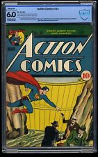Action Comics #34 CBCS FN 6.0 Slightly Brittle (Restored)