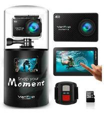 VanTop Moment 4 4K Sports Action 20MP Action Camera w/Touch Screen 4.2