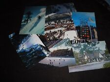 Tower of Nations Olympic Flame hockey Squaw Valley Ski Jump~CA~1960 Arena & More