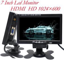 7 Inch Monitor Hdmi - 1024X600 Hd Tft Lcd Screen Display Av Vga Input Built