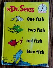 Dr. Seuss One Fish Two Fish Red Fish Blue Fish 1960 ~FIRST EDITION~