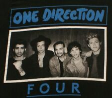 One Direction Four 1D black T-Shirt Size Small, Officially Licensed Merch