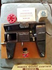 Kalart 8mm Film Movie Editor Viewer Eight Custom Splicer Model EV-8