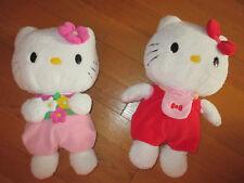 Peluche Hello Kitty fleur rose